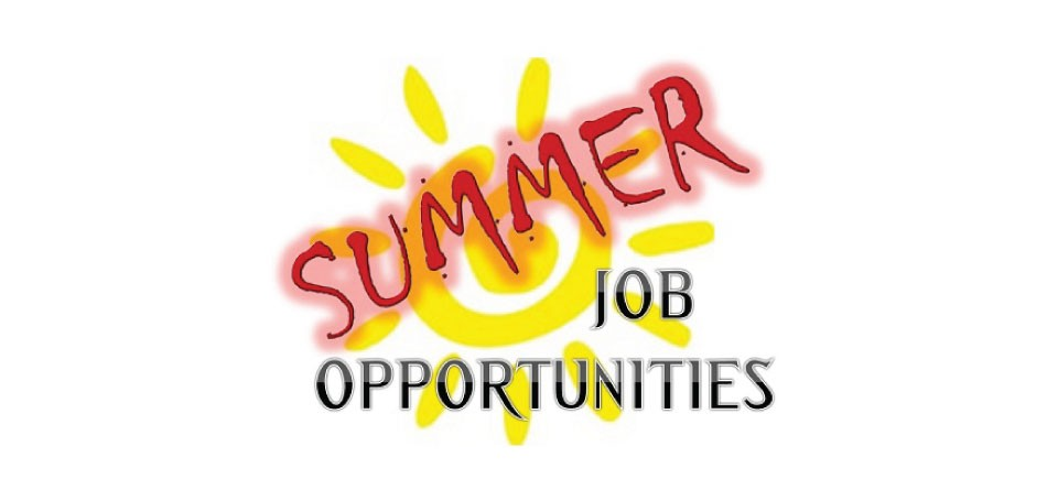 Now Hiring Summer Students for 2020