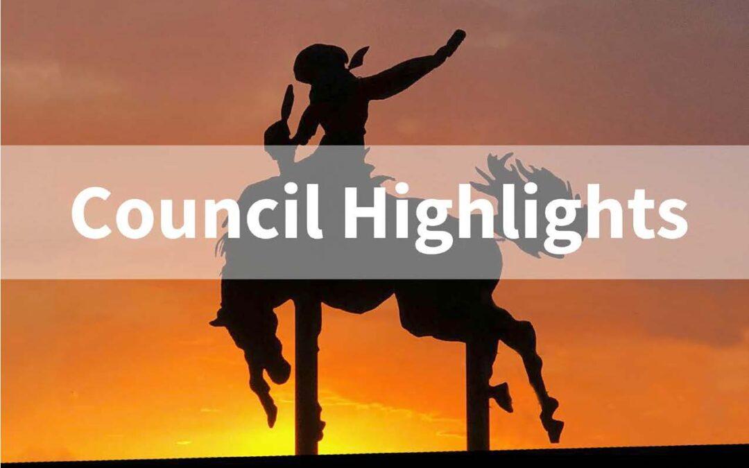 April 7 Council Meeting Highlights