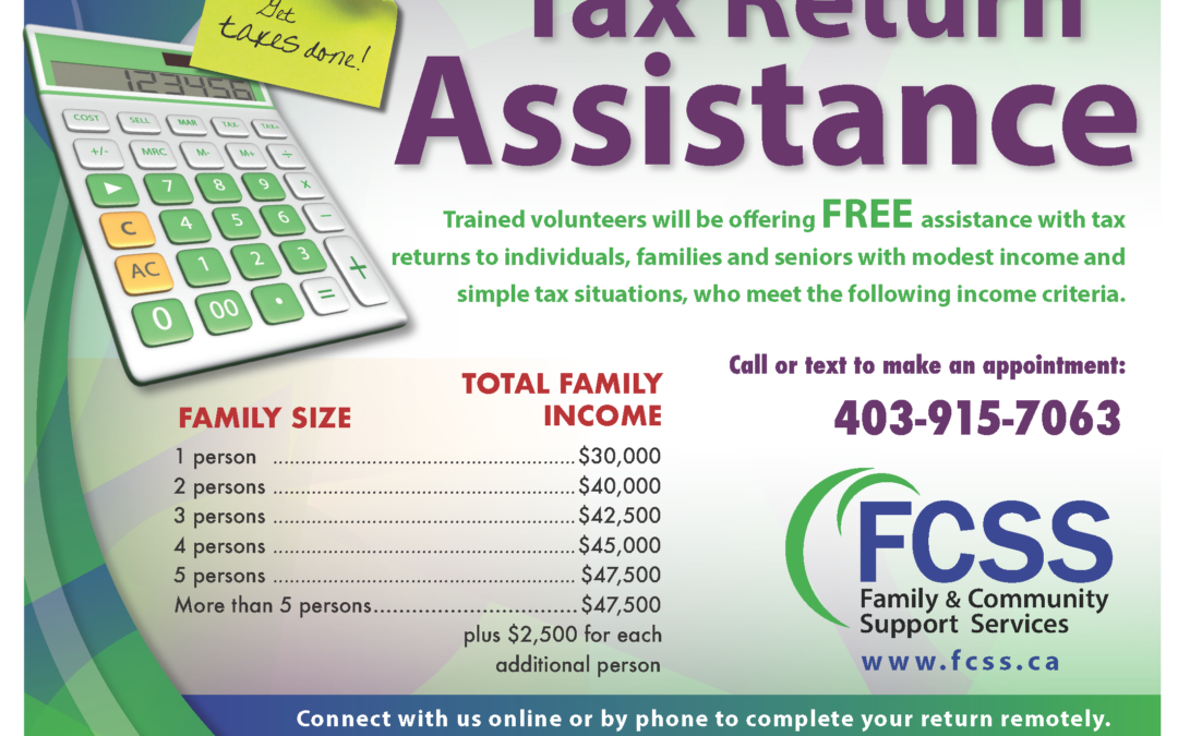 FCSS – Tax Return Support