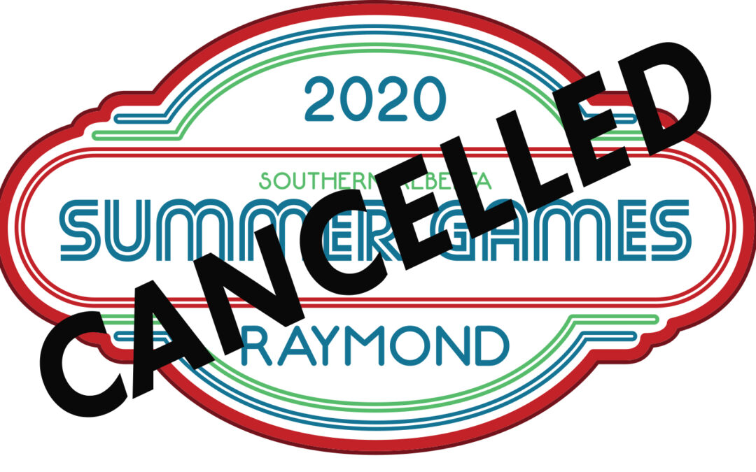 Southern AB Summer Games Cancelled