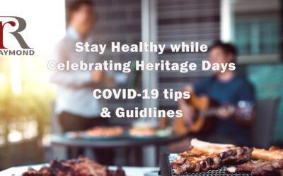 Celebrate Heritage Days Safely!