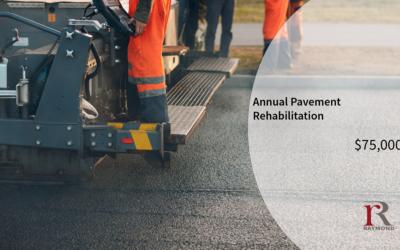 2021 Capital Spending Plan – Pavement Rehabilitation