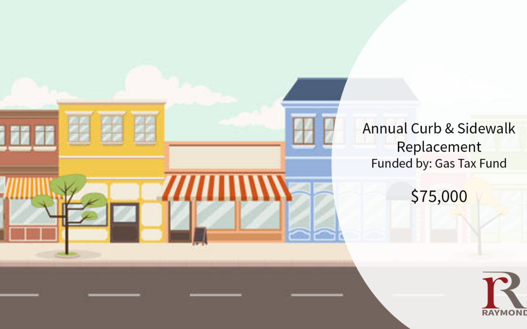 2021 Capital Spending Plan – Curb & Sidewalk Replacement Program
